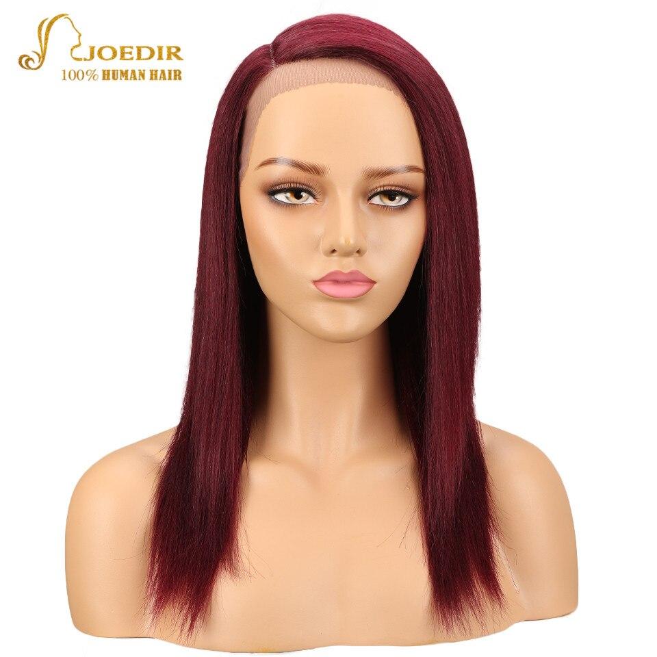 Joedir синтетические волосы на кружеве парик бразильский прямо натуральные волосы Искусственные парики для черный для женщин с ребенком воло...
