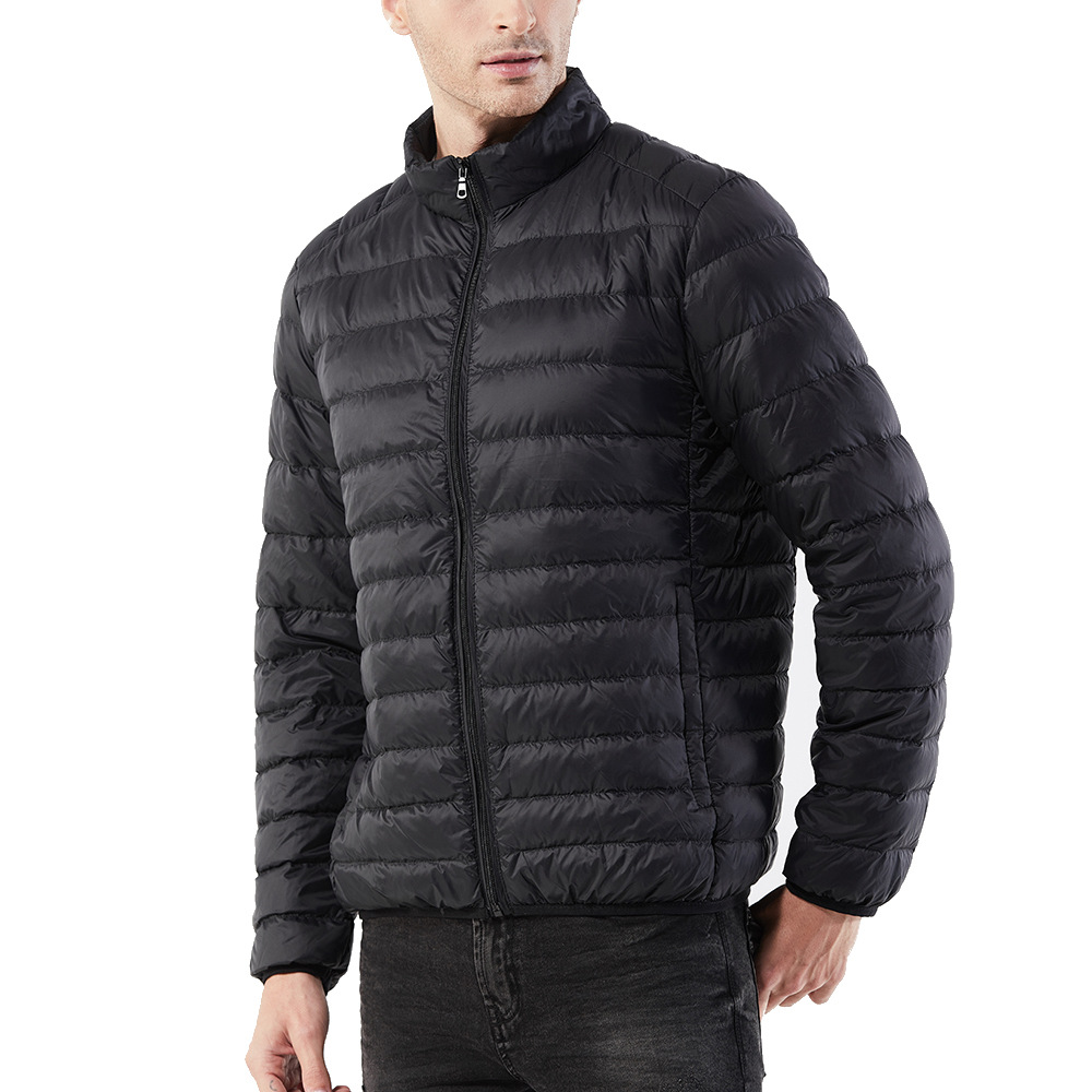 Men's Clothing Trustful New Winter Fashion Goose Down Jacket Men Windproof Waterproof Warm White Goose Down Feather Parka Male Casual Coldproof Coat 2019 Official Down Jackets