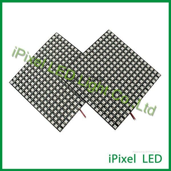 Matrice logiciel contrôle numérique 2812b flexible LED bande 256 LED s/pcs