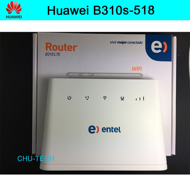 US $68 0 |Unlocked Huawei B310s 518 4G LTE FDD Wireless WiFi Router 150Mbp  Broadband Modem-in Wireless Routers from Computer & Office on