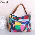 Caerlif top-handle bags mulheres couro bolsas de ombro sacos crossbody bolsas coloridas bolsa feminina bolsas de couro sacola