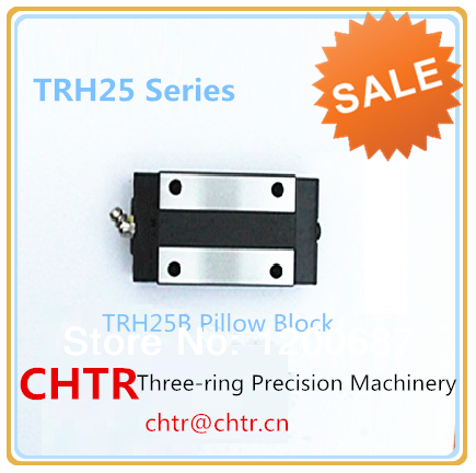 China Low Price Linear  Pillow Block Guide Laser Linear Slide Guide Carriage TRH25B linear transmission pillow block linear guide support carriage trh30b