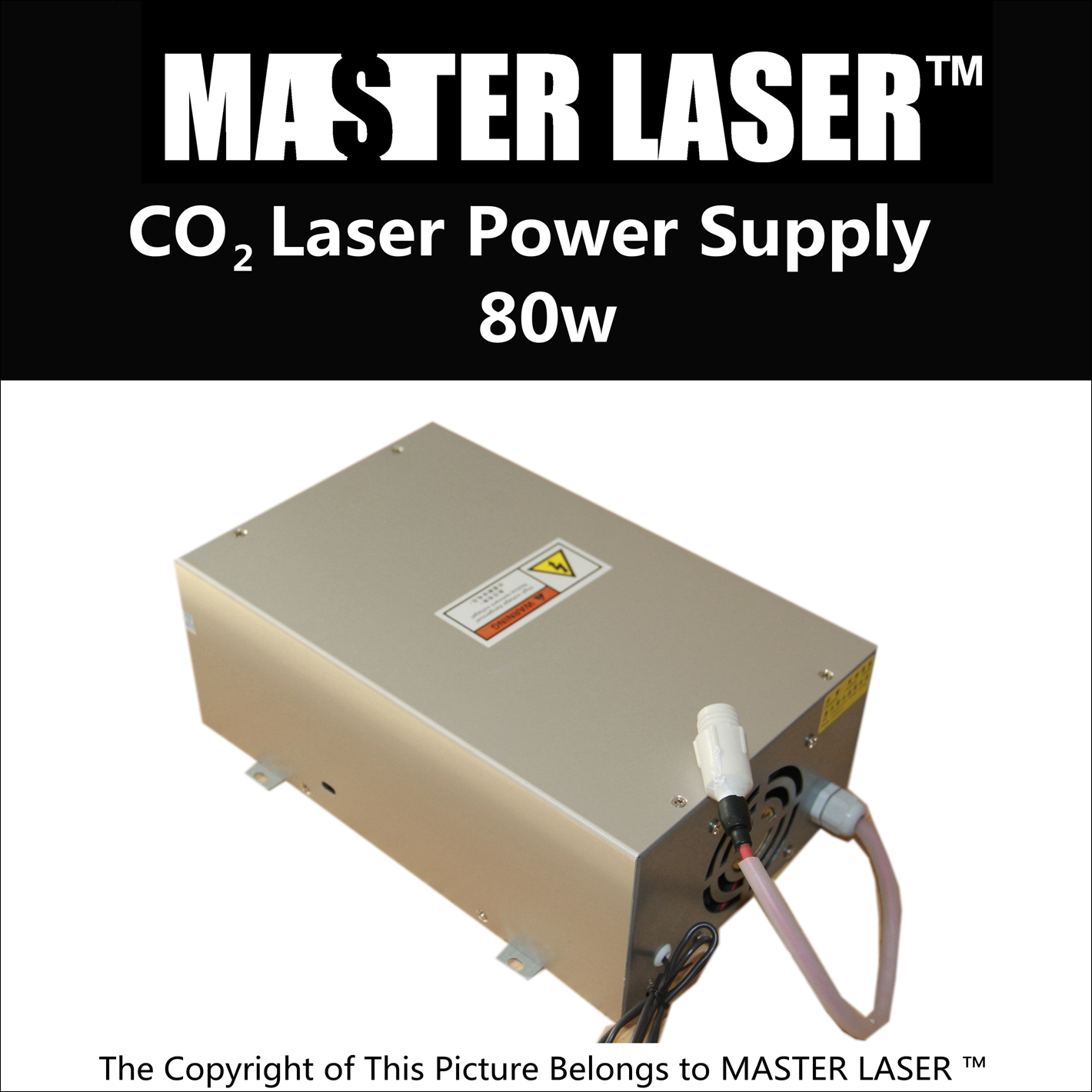 Discount 80W CO2 Laser Power Supply for Laser Cutting Machine 1390 80% discount