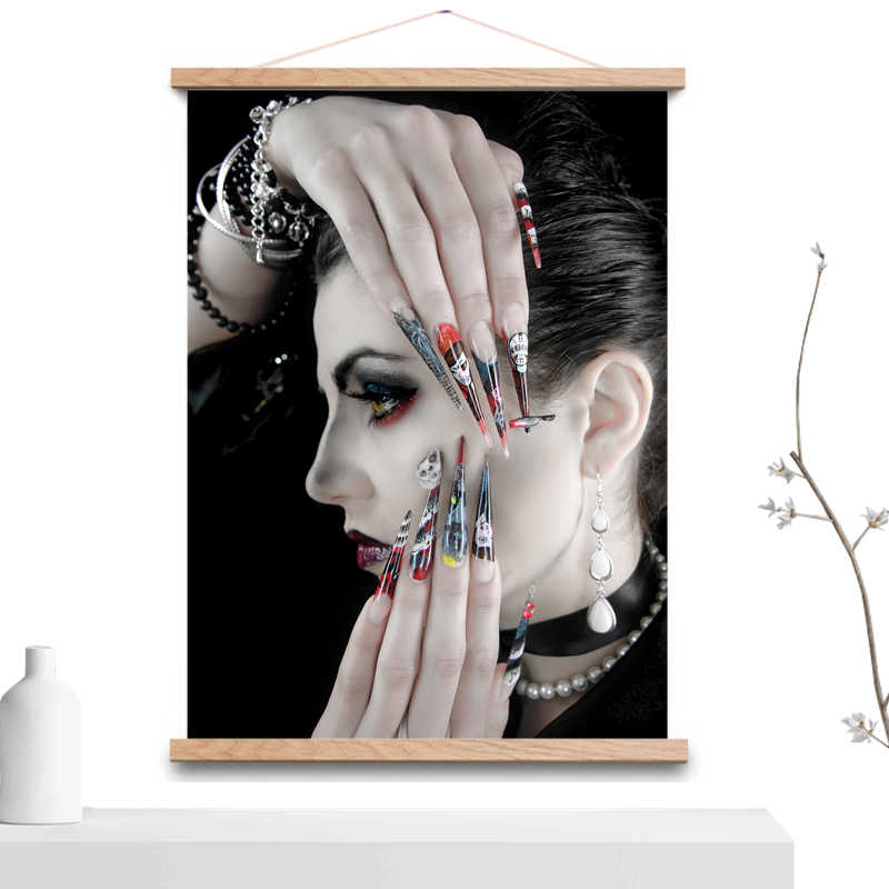 Nail Art Canvas Poster Canvas Printer Stickers op Nail Art Decoraties Folie voor Nagels Vervangen Leds voor Nail Lamp Extension kits