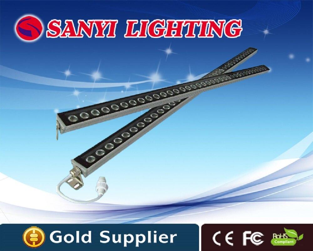 100cm 36W LED wall washer lamps 12V 24V AC 85V-265V outdoor floodlight landscape light wall warm cold RGB