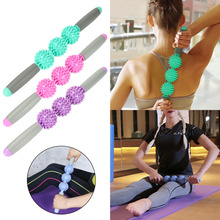 Hedgehog Ball Relax Muscle Massage Sports Roller Yoga Stick Relaxation Fascia