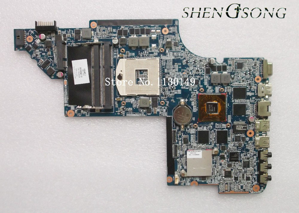 Free shipping 45 days Warranty New laptop Motherboard For hp DV6 DV6-6000 650800-001 for with HM65 HD6770/2G 45 days warranty laptop motherboard for asus k53b la 7322p with 4 video chips non integrated graphics card 100