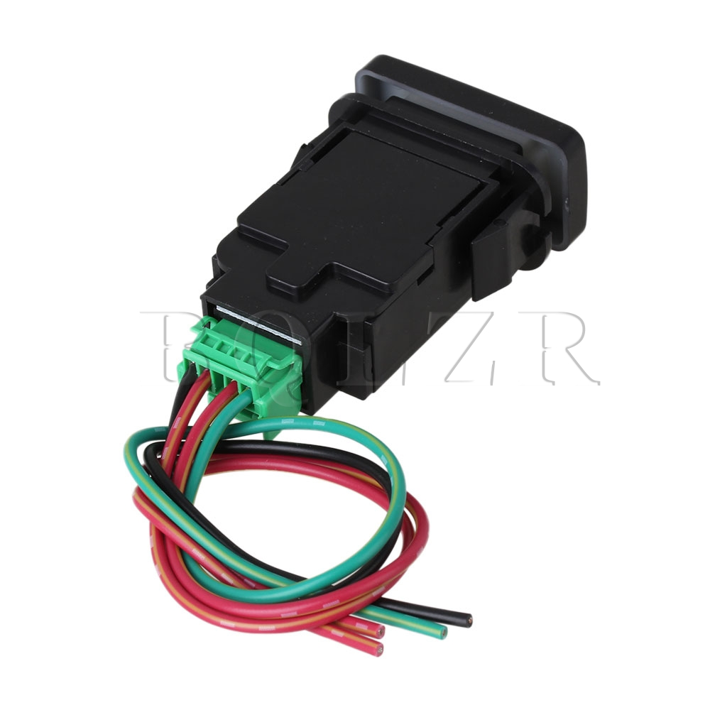 Bqlzr Dc12 24v Push Switch With Wire For Toyota Old Style 4 Circles Rocker Wiring How To Make A Bench Power Supply From An Atx Symbol Red Pattern In Switches Lights Lighting On Alibaba Group