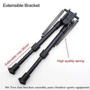 Image 3 - Airsoft M4 Barrett Bracket Toy Water Gun Bracket Accessories Refitted For 20mm 23mm Guide Rail