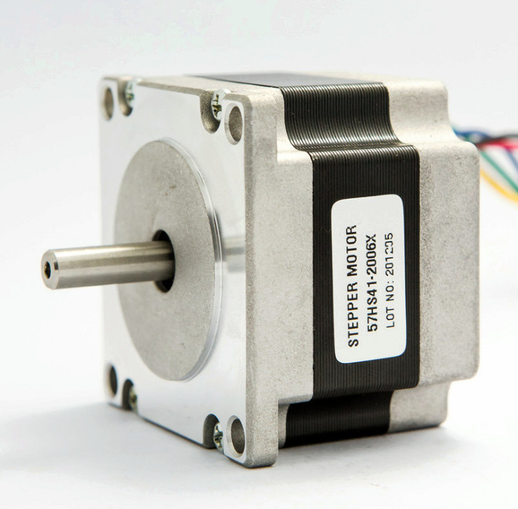 все цены на Nema 23 Stepper Motor 57HS41-2006 0.39N.m 2A 6 Lead Nema 23 motor 57*41mm 56Oz-in for 3D printer онлайн