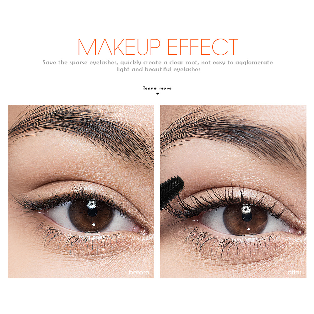cadd2d468c9 MARFUZ 3D Curling Mascara Makeup Volume Quick Dry Thick Extension Lengthening  Eyelashes Waterproof Cosmetics-in Mascara from Beauty & Health on ...