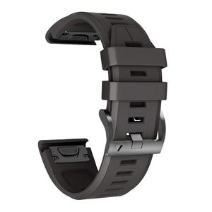 Image 2 - Voor Fenix 5 Plus Band Zachte Siliconen 22Mm Horlogebanden Vervanging Voor Fenix 5 Plus/Fenix 5 Instinct/Forerunner935 Approaach S60