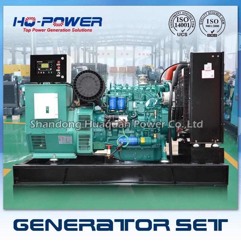 100kw diesel generator deutz shandong weichai engine three phase alternator