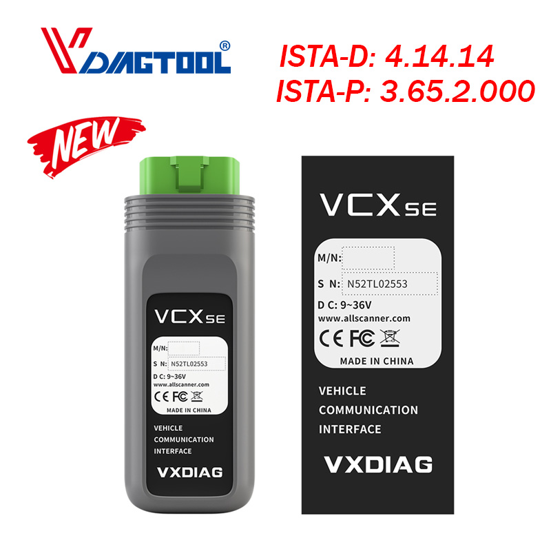 VXDIAG SE For BMW V2019.05 ICOM NEXT For BMW ICOM A2 NEXT Professional ICOM A2 ECU Diagnostic & Programmer Online Coding