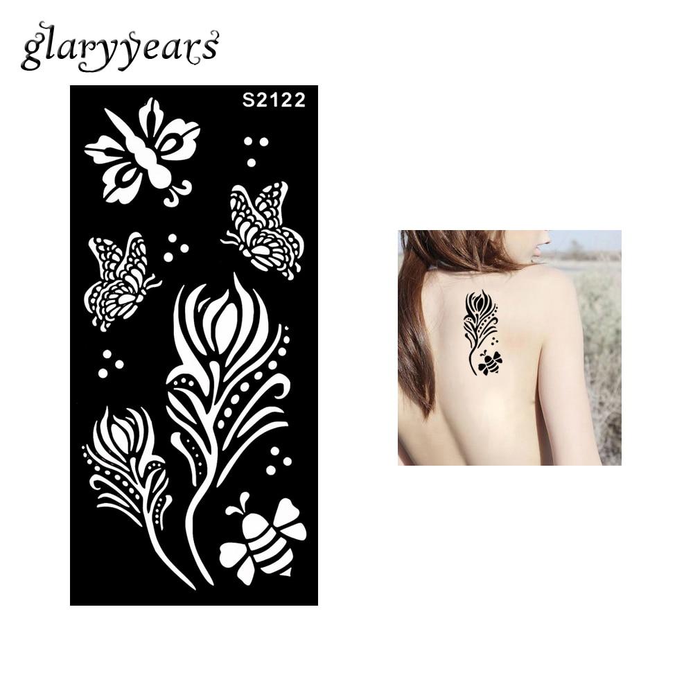 Gambar Henna Bintang
