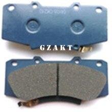 Front Disc Brake Pads For Toyota 2008 – 2013 HILUX KUN2#,3# TGN36 LAN25,35 GGN25,35 OEM:04465-0K240 044650K240