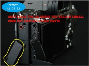 Image 4 - 新オリジナル sony A73 A7M3 A7III マイクゴムカバーカメラの修理部品