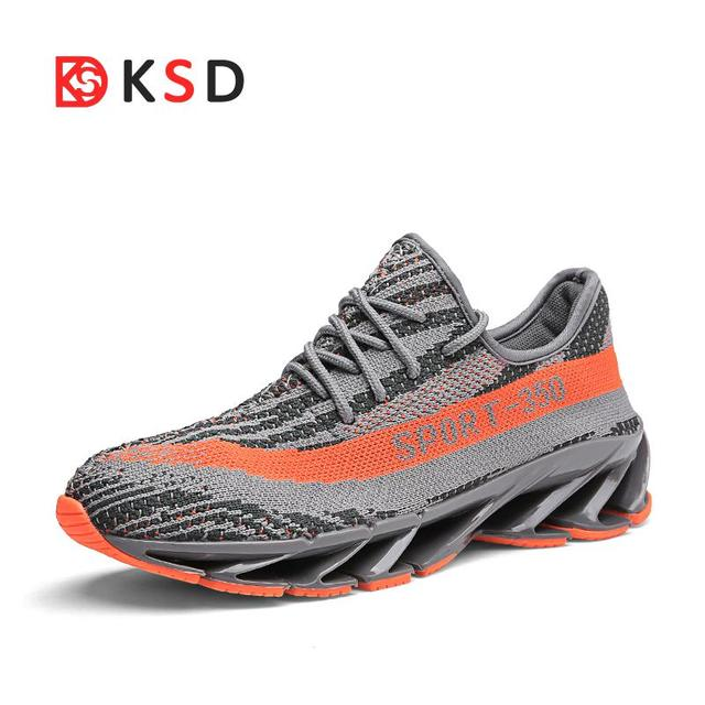 f6299a465 Super Cool Men Women Running Shoes Outdoor Breathable Jogging Sport Blade  Shoes For Men s Krasovki Trainers Walking Sneakers