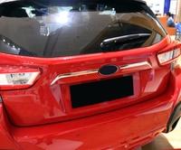 ABS Plastic Chromed Rear Door Lower Mouldings For Subaru Impreza hatchback XV 2017 2018