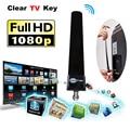 Indoor Digital TV Antenna Clear TV Key Fox Antena TVfox HDTV Free Fire Smart TV Stick Aerial Signal Receiver ATSC PAL DVB-T DTV