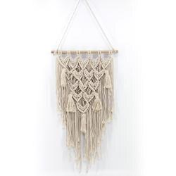 Casa tapeçaria-estilo boêmio macrame artesanal de malha pingente de parede pendurado da sala de estar decoração do quarto