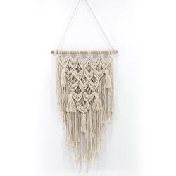 Home Tapestry - Bohemian Style Macrame Handmade Knitted Pendant Wall Hanging of The Living Room Bedroom Decoration