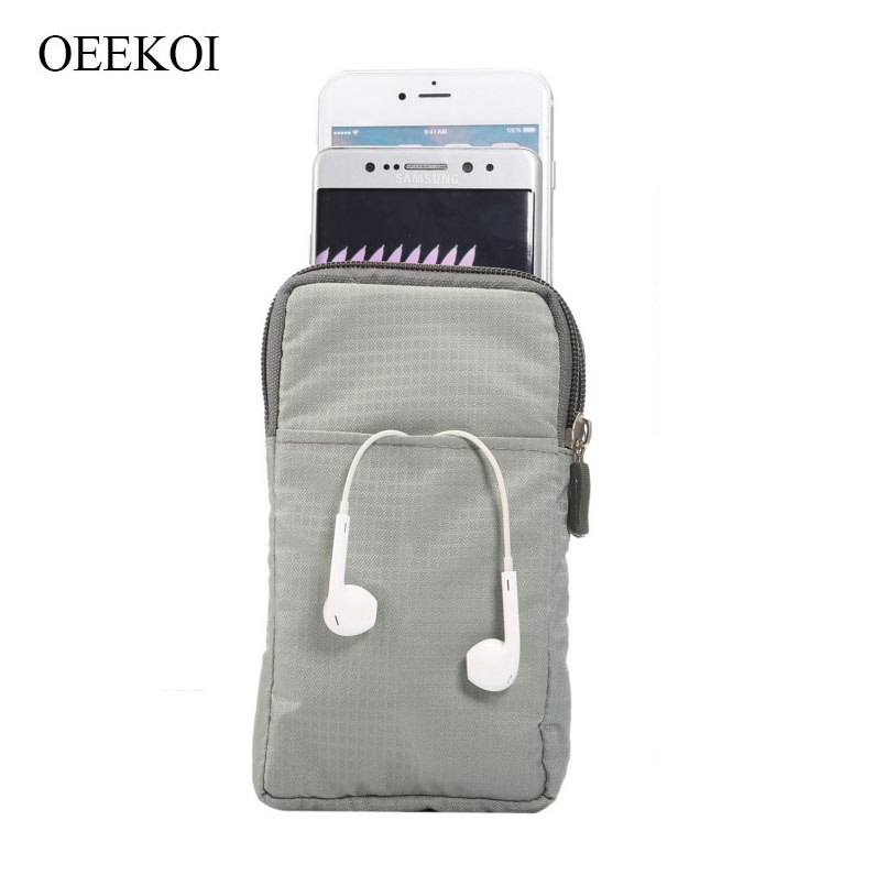 OEEKOI Multi-Function Belt Clip Sport Bag Pouch Case for Vernee X1/V2/Apollo 2/M6/Active/X/Mix 2/Thor Plus/M5
