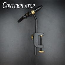 CONTEMPLATOR 1 مجموعة ذبابة ربط الكلاسيكية مفيد الملزمة أداة سلامة عقد هوك الصيد النحاس C المشبك ربط الفك الملزمة مع للصدأ تصلب