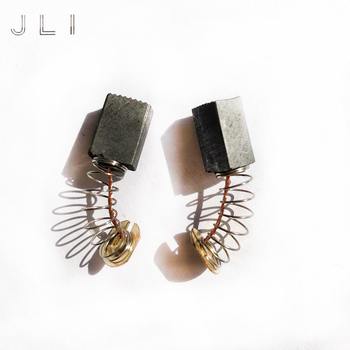 JLI 6 9 12mm 10 Pairs Carbon Brushes For Angle Grinder Moteur Electric Motor Power Tools Accessories Carbone Brosses