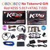 Newest KESS V5 017 V2 23 KTAG V7 020 V2 23 No Tokens Limit KESS 5