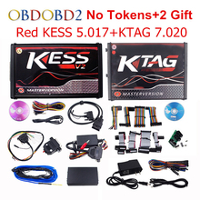 Online Master KESS V5.017 V2.23 + KTAG V7.020 V2.23 No Tokens Limit KESS 5.017 + K-TAG K Tag 7.020 ECU Programmer DHL Free