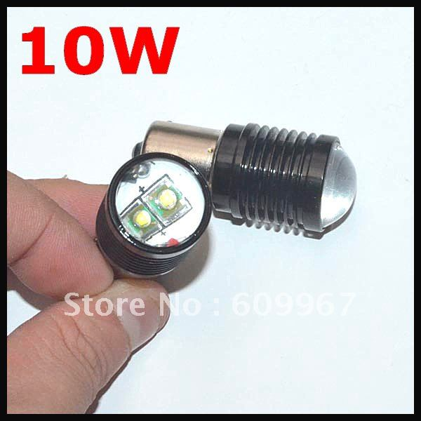 New High power 1156 led BA15S 10W Cree chip R5 Led Car Turn/ Indicator/ Reverse/ Brake Light Bulb Lamp Free Shipping