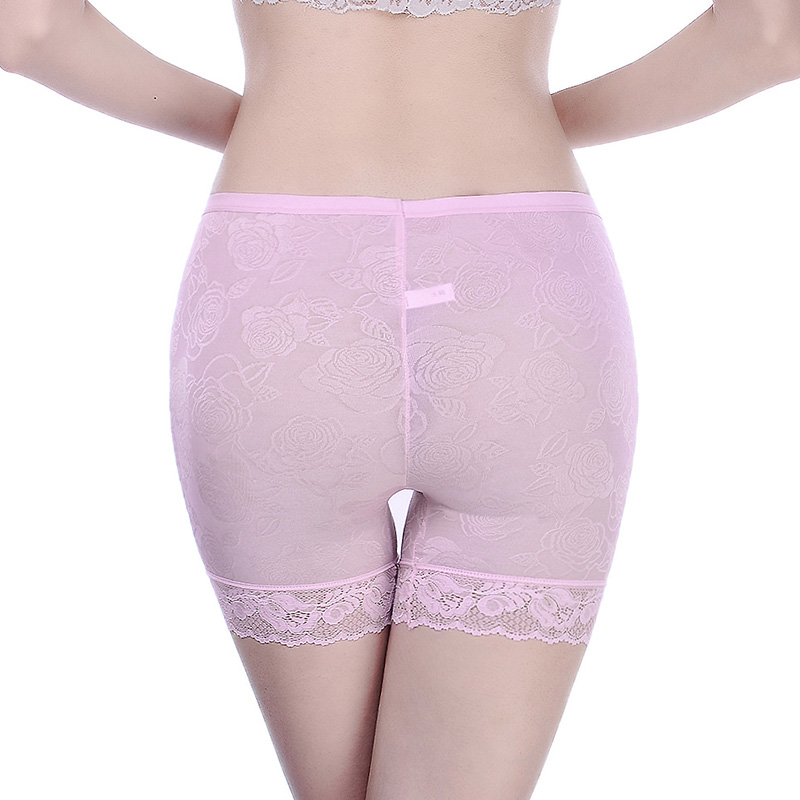 3 Pieces/Pack Safety Short Pants Under Skirts For Women Boyshorts Big Size Anti-Static Female Safety Boxer Panties Underwear