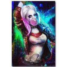 Harley Quinn - Suicide Squad Superhero Art Silk Poster Print 13x20 24x36 inch Movie Picture for Living Room Wall Decor 068
