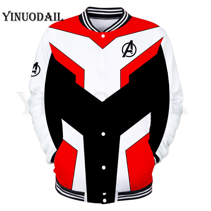 Marvel The Avengers Endgame Game 3D Jackets Men Streetwear Hip Hop Warm Sweatshirts Casual Hoodies Children Printed Jackets in Jackets from Men 39 s Clothing