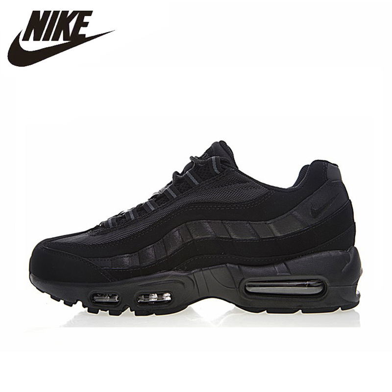 the best attitude cc8cd 21ca0 NIKE AIR MAX 95 ESSENTIAL Men s Running Shoes,Original Sports Outdoor  Sneakers Shoes, Black