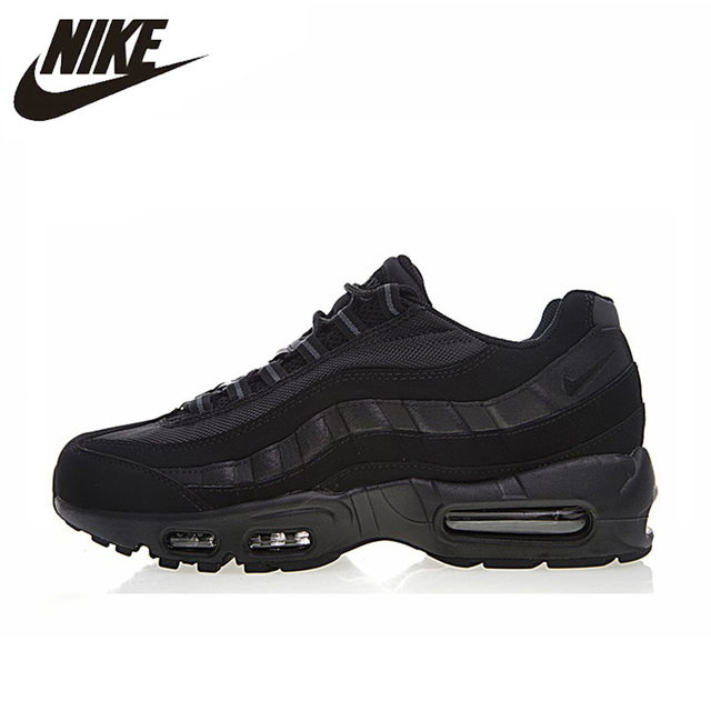 sale retailer cfb5a aed7b NIKE AIR MAX 95 ESSENTIAL Men s Running Shoes,Original Sports Outdoor Sneakers  Shoes, Black, Non-slip Wear-resistant 609048 092