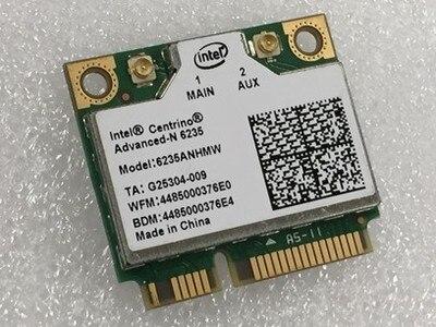 Новинка для Intel Centrino Advanced-N 6235 6235ANHMW Wi-Fi Bluetooth 4,0 Мини PCI-E карта 802,11 a/b/g/n 2,4G/5,0 ГГц 300 Мбит/с