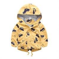 תינוק בגדי הלבשה עליונה ילדה ילד ילדי מעיל בנים בגדי ילדי מעילי סתיו חמודה סלעית מעיל רוח רכב ספורטיבי
