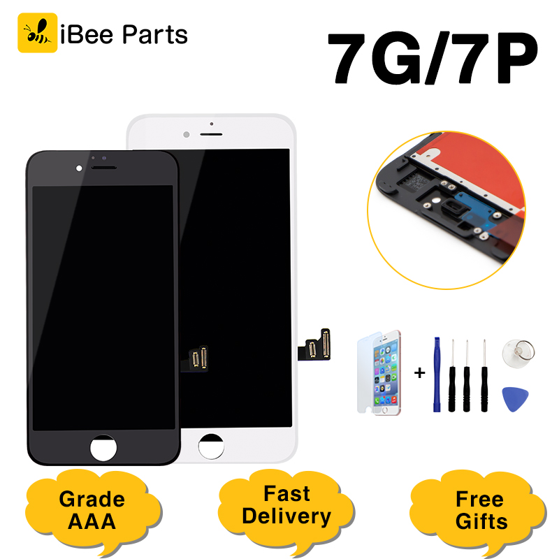 Ibeeparts Touch-Screen Lcd-Display Tianma iPhone 7 Digitizer-Assembly-Replacement 1PCS
