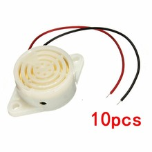 10Pcs/lot 95DB Alarm For Arduino High-decibel DC 3-24V 12V Electronic Buzzer Continuous Beep