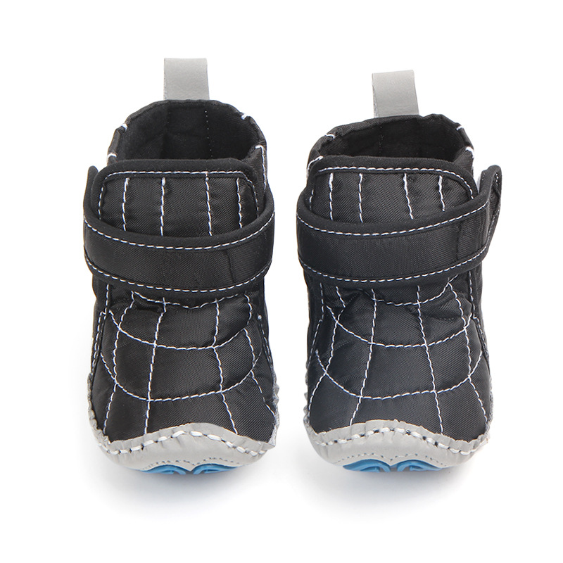 Baby Shoes 2018 Autumn Winter Velcro Boots For Baby Girls Boys Anti-slip Bebe First Walkers Infantil Toddler Shoes First Walkers