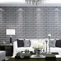 PE Foam Wall Sticker 3D DIY Brick pattern Wall Decor Vintage Brick Stone Pattern Wallpaper For Living Room Wall Covering 60*60cm