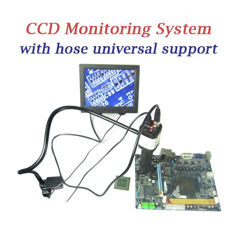 BGA rework station parts LY Cobra CCD camera supervising system for BGA Reballing with 8'' minitor учебники феникс рисуем по точкам изд 3 е