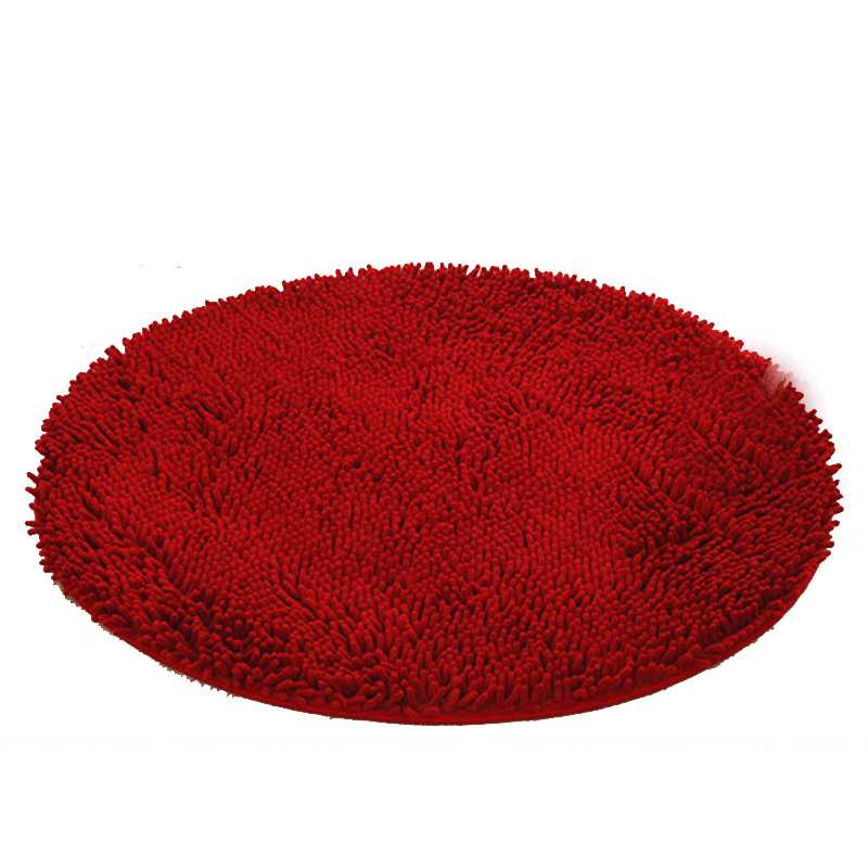 1PC Non slip Thicken Chenille Bath Mat Bathroom Rug Carpet for Living Room Floor Mat Kitchen Hallway Living Room Bedroom mat in Bath Mats from Home Garden