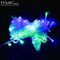 Christmas Decoration 1prieces 10m Waterproof 110v/220v 100 Led Holiday String Light For Christmas Festival Party Colorful Xms
