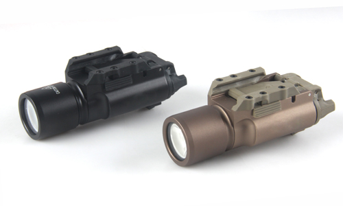 USA X300U LED Flashlight Bright Flashlight 20mm Picatinny Rail For F Rail Mount