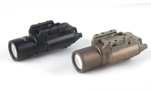 Livraison gratuite SureFir X300 pistolet à LED pistolet à main arme torche tactique chasse lampe de poche