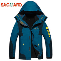 SAGUARO New Winter Ski Jacket Men Outdoor Windproof Waterproof Warm Sport Snowboarding Suits Fleece Liner Skiing