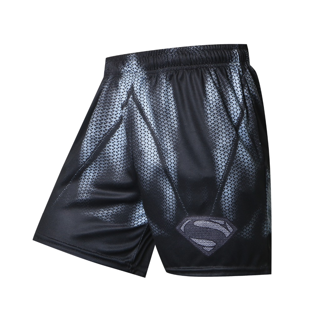 New Brand Men Shorts 3D Superman Beach Board Shorts Men Quick Drying 2018 Summer Clothing Fashion Casual Boardshorts Sea Shorts